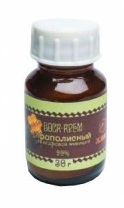 Воск-крем прополисный с кедровой живицей 20%