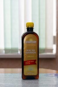 """Льняное масло """"Сибирское"""""""
