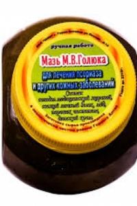 Мазь от псориаза Голюка
