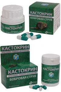 Кастокрин (бобровая струя)